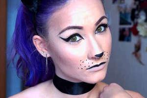 Cum Pot Desena O Pisica Pe Fata Faceți Pisici Pentru Halloween